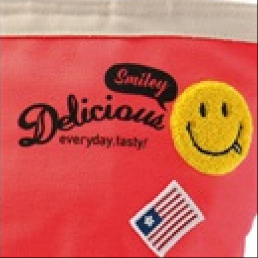 Delicious Smile (デリシャス スマイル) 保冷ランチバック RD