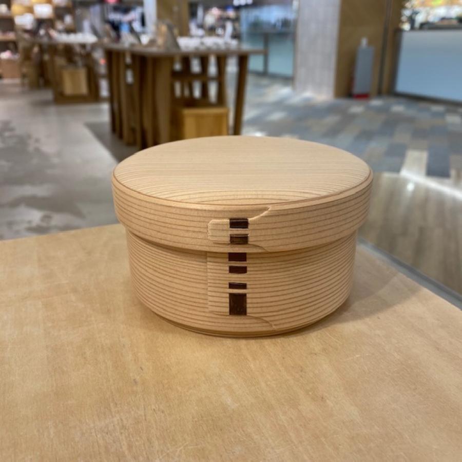 柴田慶信商店 白木曲げわっぱ丸弁当箱