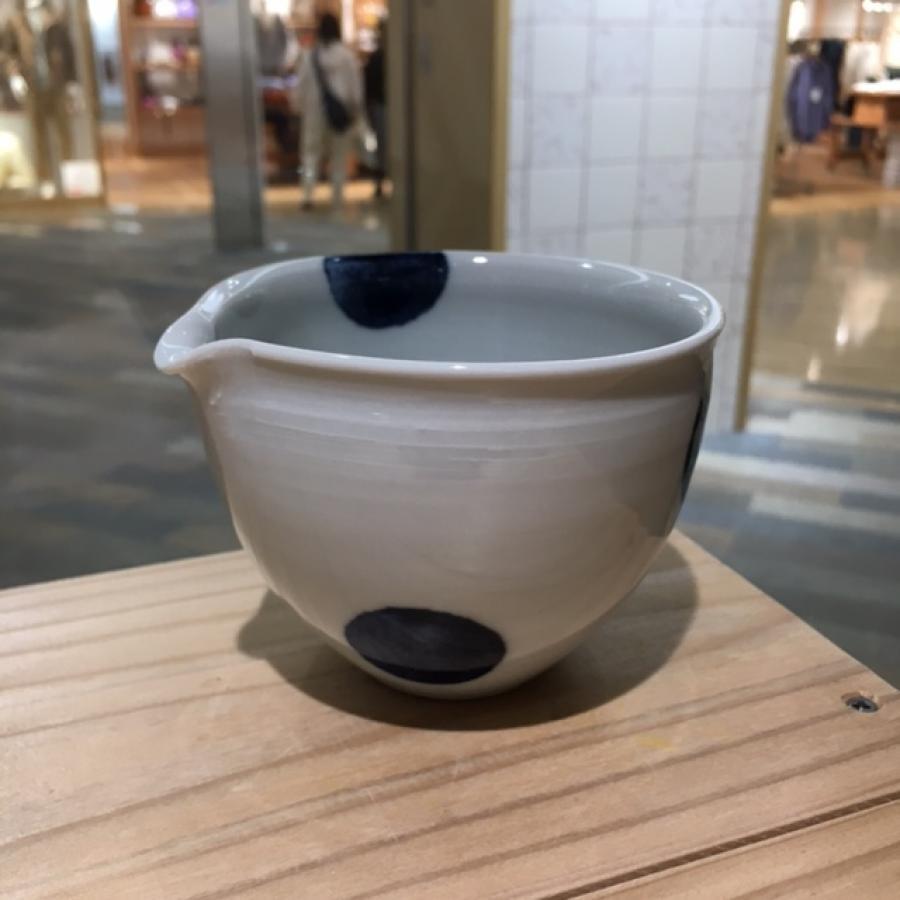 九谷青窯 丸紋3.5深鉢