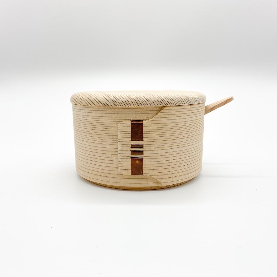 柴田慶信商店|曲げわっぱのバターケース|丸型
