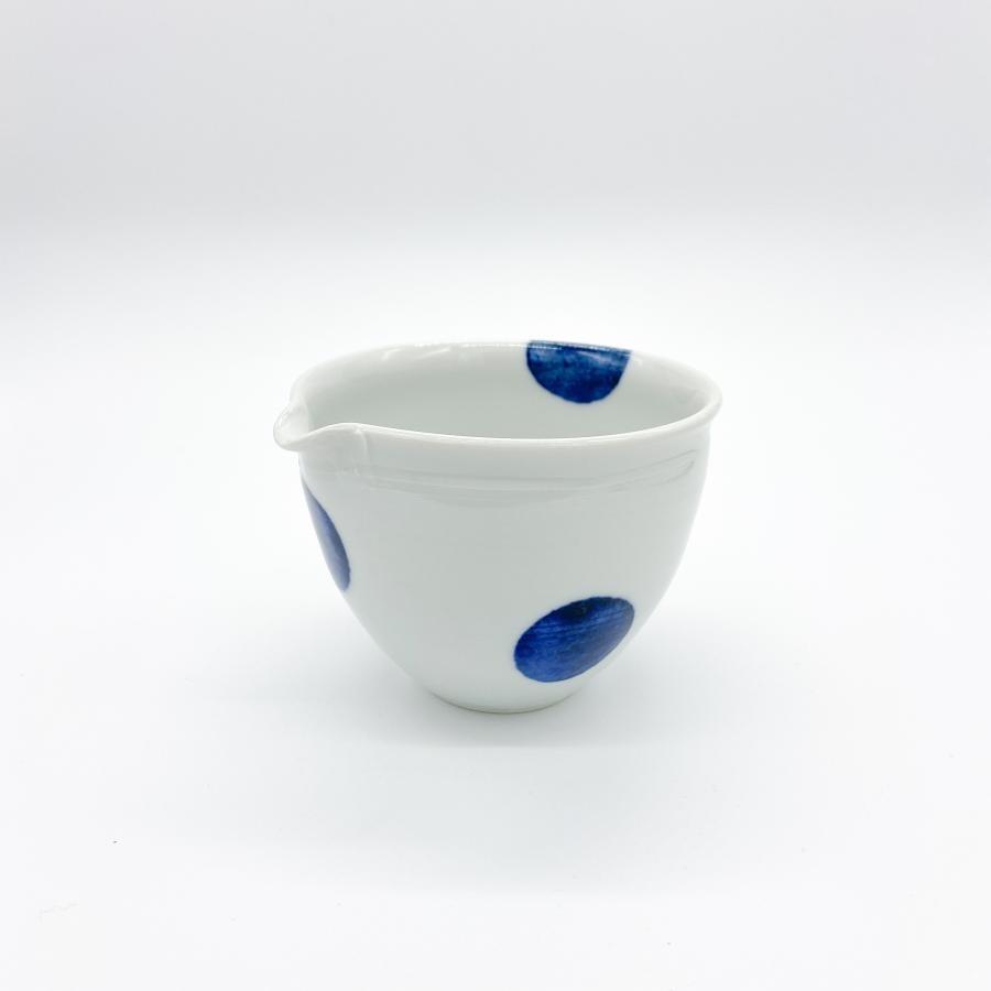 九谷青窯 丸紋深鉢|3.5寸