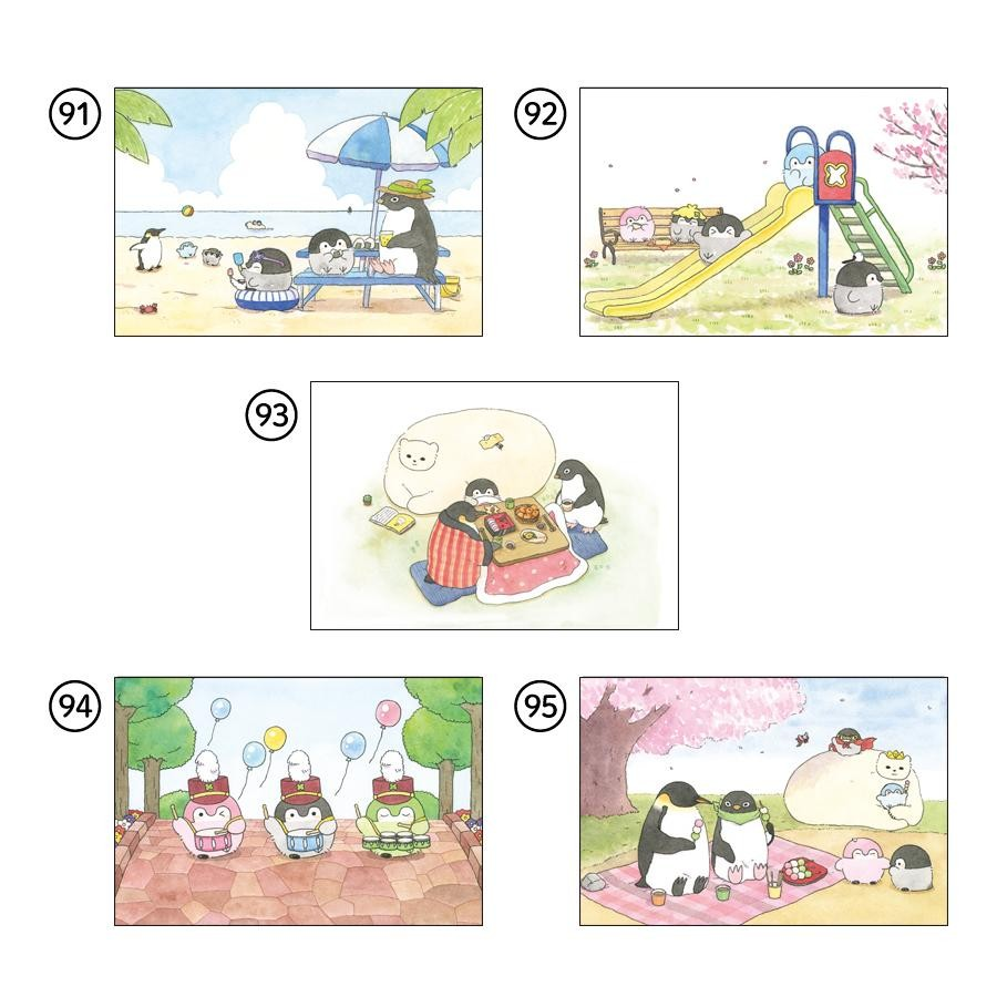 【コウペンちゃん】原画ポストカード No.91〜95
