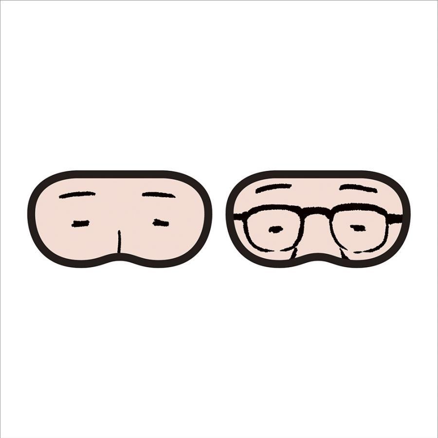 【サラリーマン 山崎シゲル】【受注生産/2021年12月下旬より順次発送】アイマスク