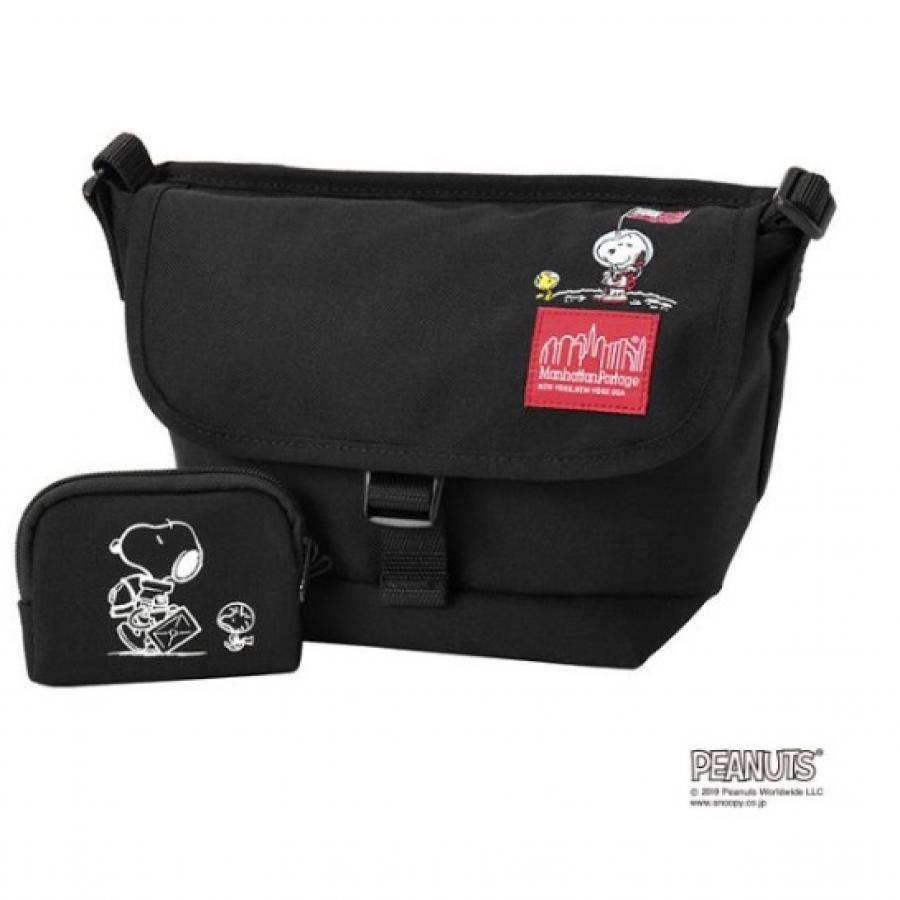 Manhattan Portage × PEANUTS Casual Messenger Bag