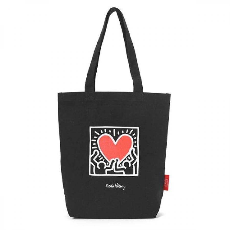 Packable Tote Bag Keith Haring
