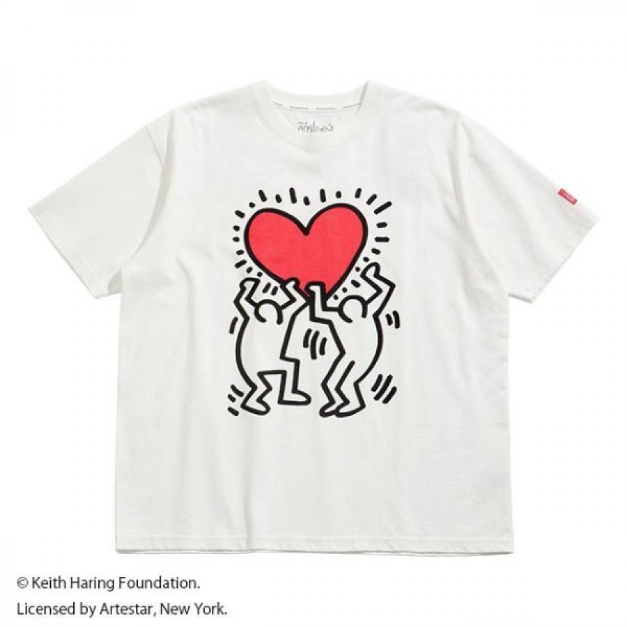 ShortSleevePrintT-ShirtKeith Haring