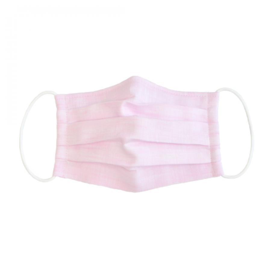 [夏仕様]リネンガーゼマスク/ピンク