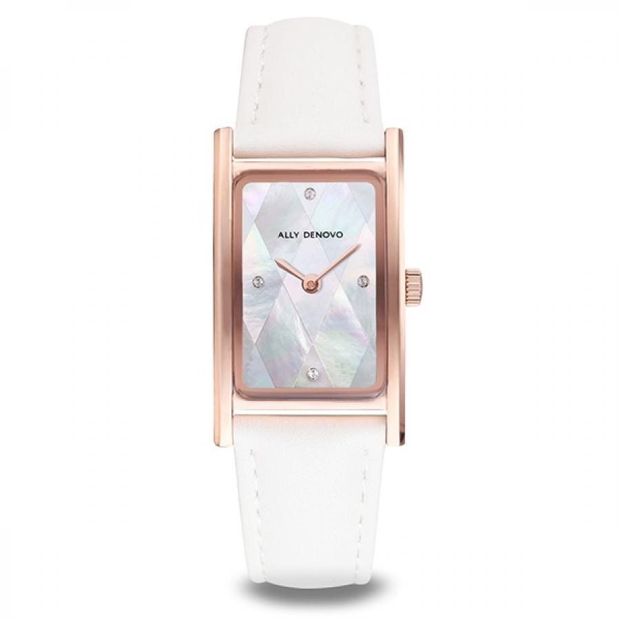 ALLY DENOVO アリーデノヴォ 腕時計 レディス Harmony Pearl ブレスレット付属 パール文字盤 AR5002.4