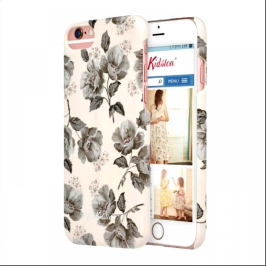 iPhone 6/7/8 ミッドワイルドポピー ストーングレー