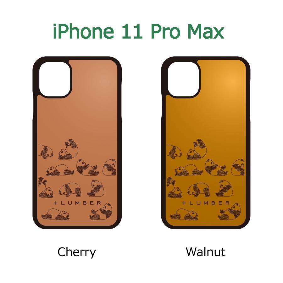 【iPhone 11 Pro Max】木製 iPhoneCase 片面タイプ