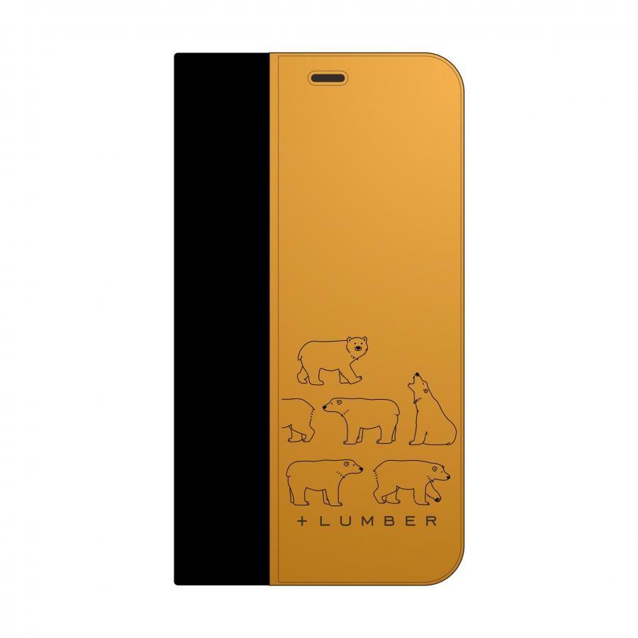 【パルコヤ上野店限定】シロクマの手帳型iPhoneCase