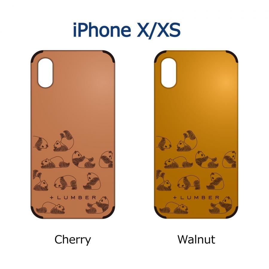 【iPhone X/Xs】木製 iPhoneCase 片面タイプ