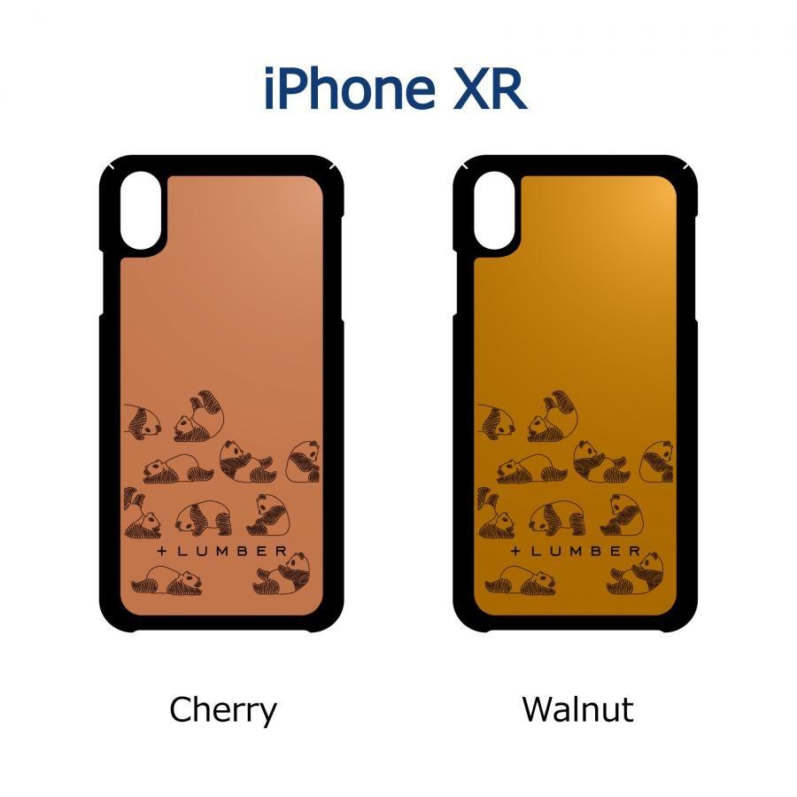 【iPhone XR】木製 iPhoneCase 片面タイプ