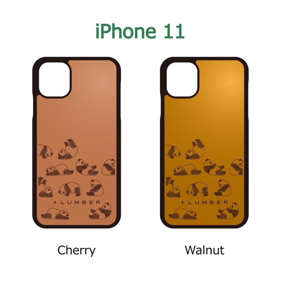 【iPhone 11】木製 iPhoneCase 片面タイプ