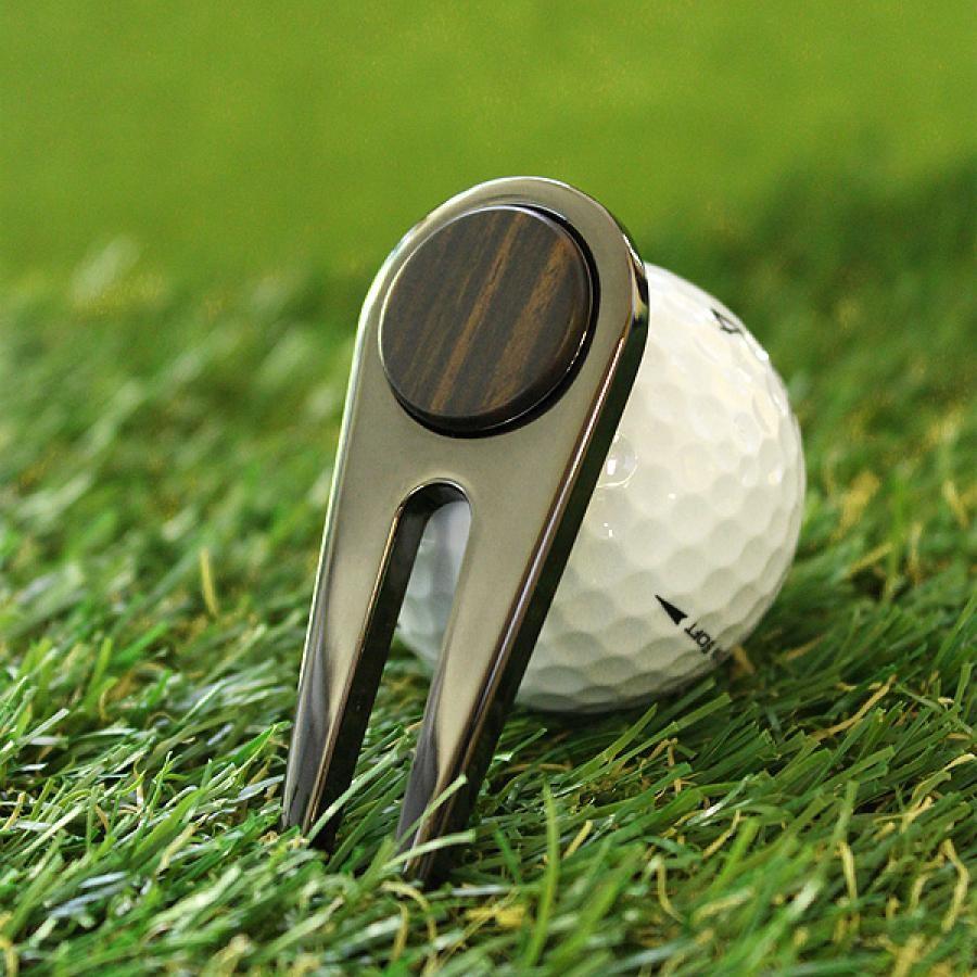 ゴルフ グリーンフォーク 黒檀