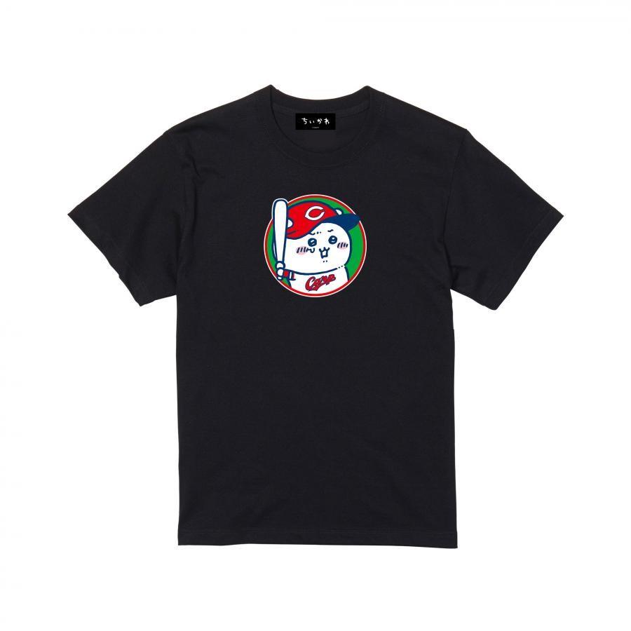 【予約商品】ちいかわX広島東洋カープ サークル Tシャツブラック【1会計3点まで・11月下旬発送予定】