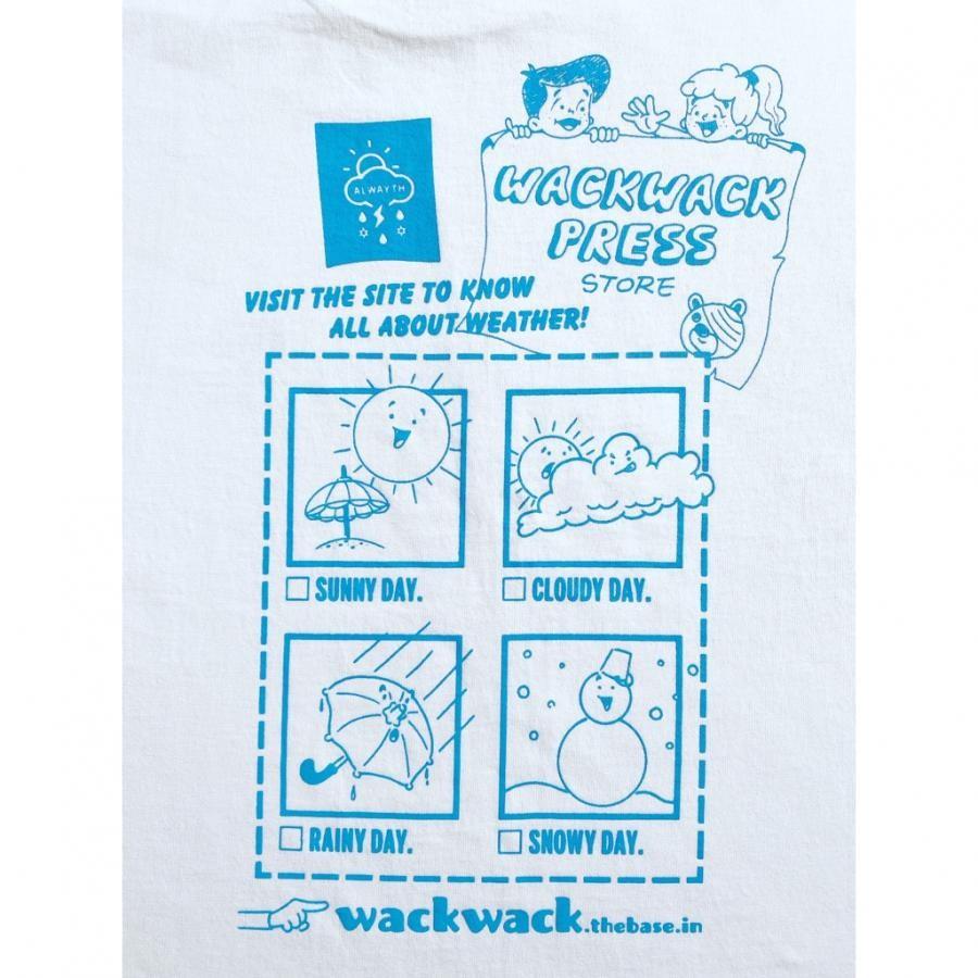 【WACKWACK PRESS STORE 】ワクワクストア S/S TEE