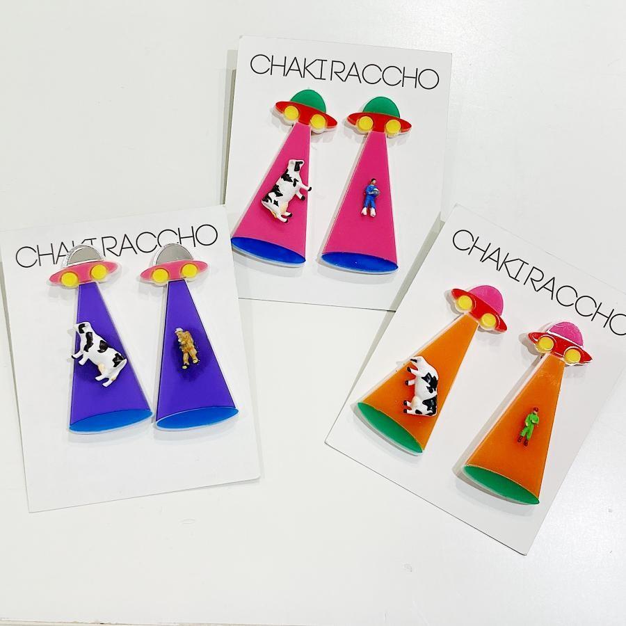 【CHAKIRACCHO】(両耳)キャトルミューティレーション イヤリング
