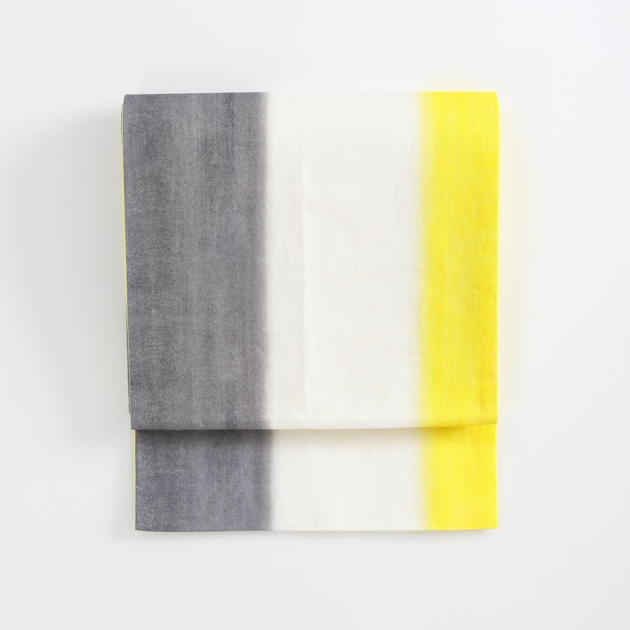 綿麻京袋帯 トリコロール