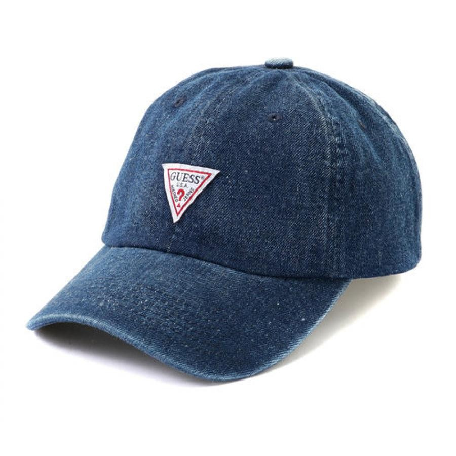 TRIANGLE LOGO DENIM 6PANEL CAP