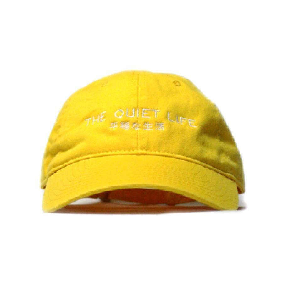 【先行予約・店頭受取】THE QUIET LIFE ザ クワイエットライフ Japan Dad Hat 【GOLD】