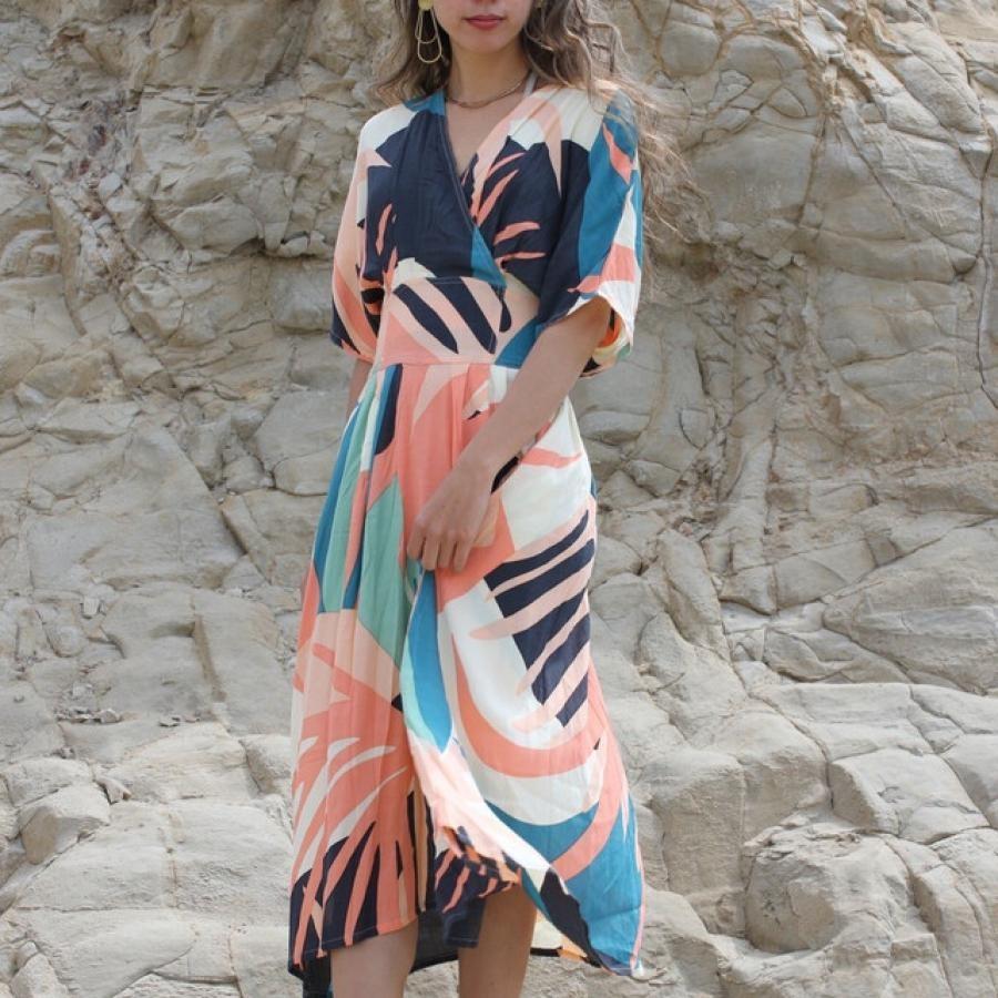 【Dazzle】tropical dress