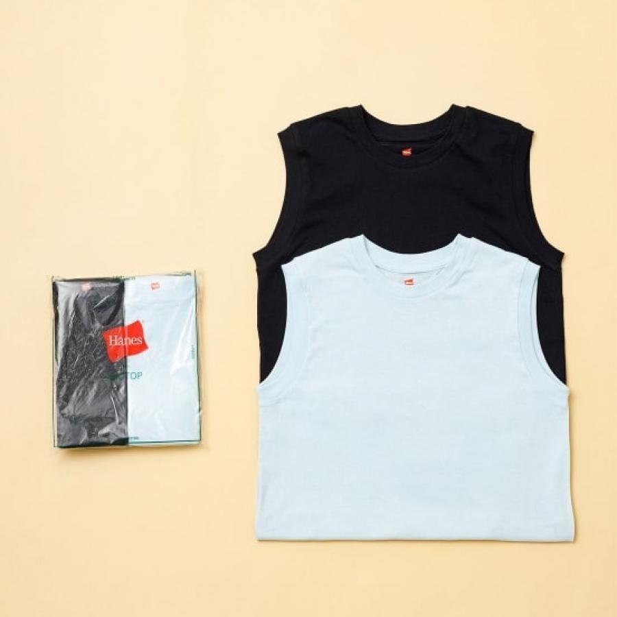 【Hanes for BIOTOP】Sleeveless T-Shirts/color ADAM ET ROPÉ FEMME