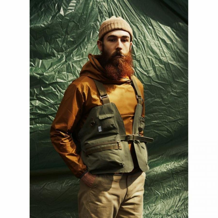 SHRINK NYLON CAMP VEST / キャンプ ベスト