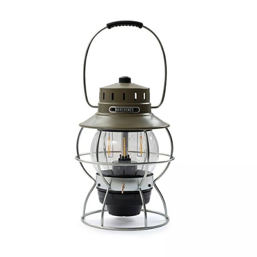 BAREBONES LIVING ベアボーンズリビング BBL レイルロードランプ LED ランタン アンティークブロンズ