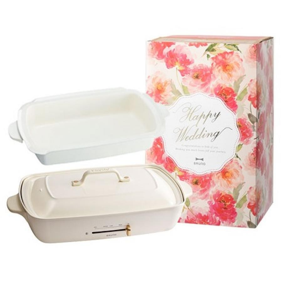 [wedding present] Grande hot plate (white)