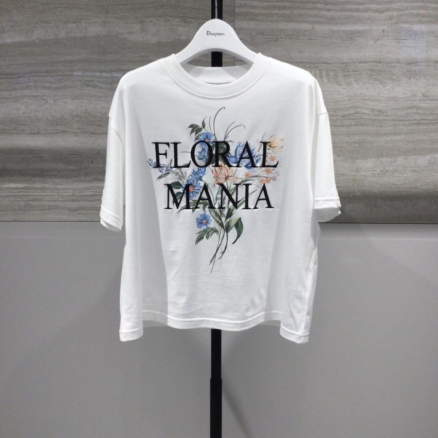 Flower print T-shirt
