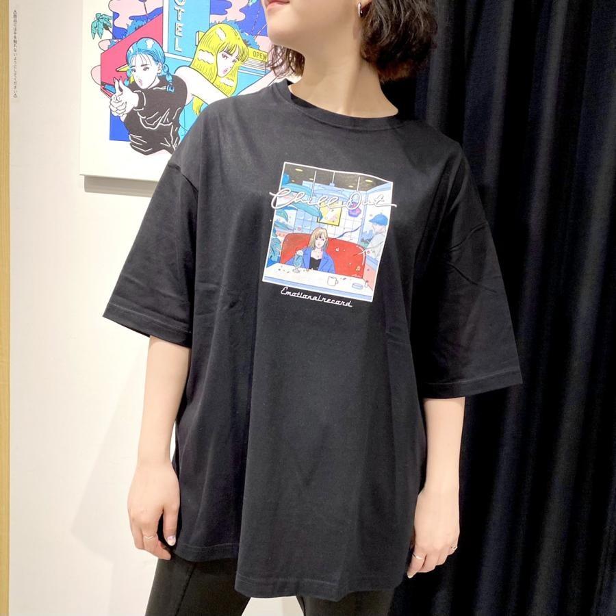 【 ABEchan 】喫茶店 ティシャツ