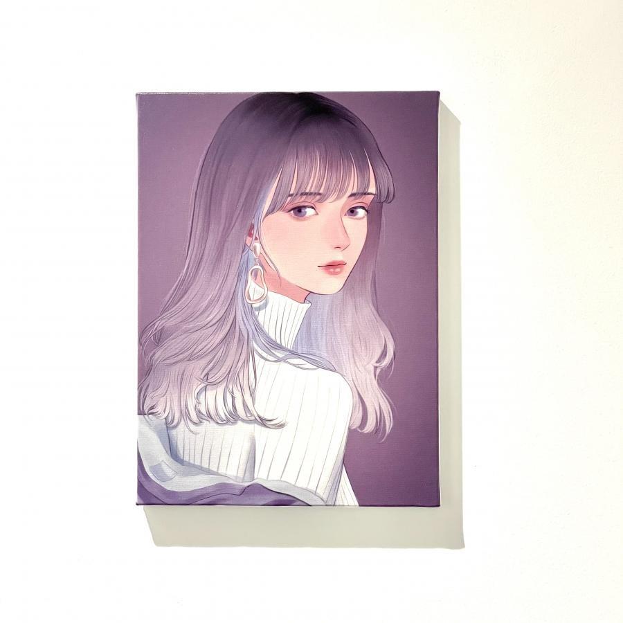 【bunjo】プリント キャンバス(F4)