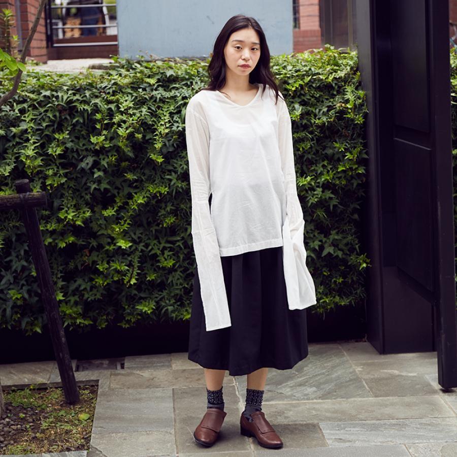 【SALE】有機栽培綿による古形衣の下着 ホワイト/COSMIC WONDER