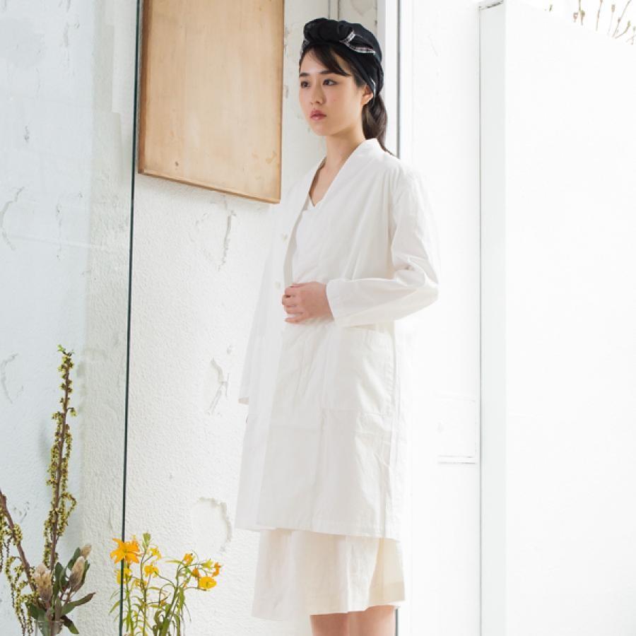 【SALE】有機栽培綿の仕事着コート/COSMIC WONDER