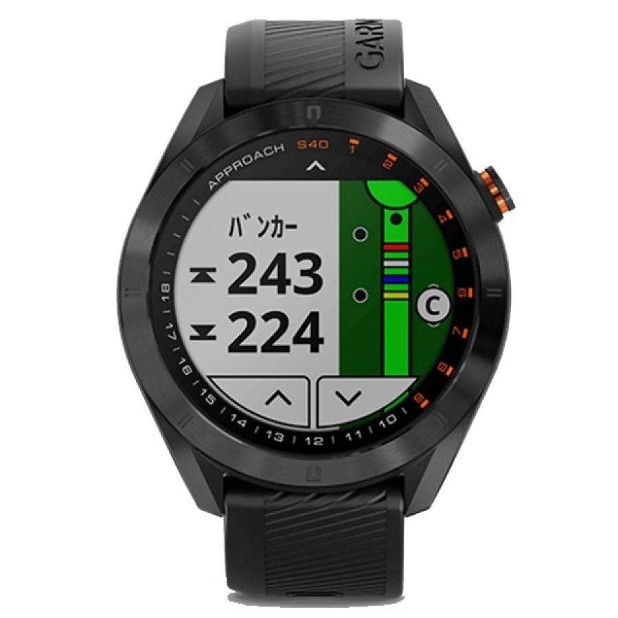 【GARMIN】 Approach S40 010-02140-21 Black GPSゴルフナビ