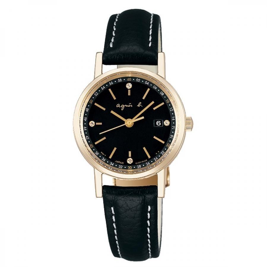 agnes b. アニエスベー SEIKO セイコー FBSD936 ファム ソーラー 腕時計 レディース