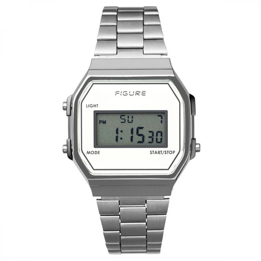Movement in Motion ムーブメント・イン・モーション FIGURE フィギュア Color Digital カラーデジタル MIM-FD-WH ホワイト TiCTACオリジナル 腕時計 メンズ レディース