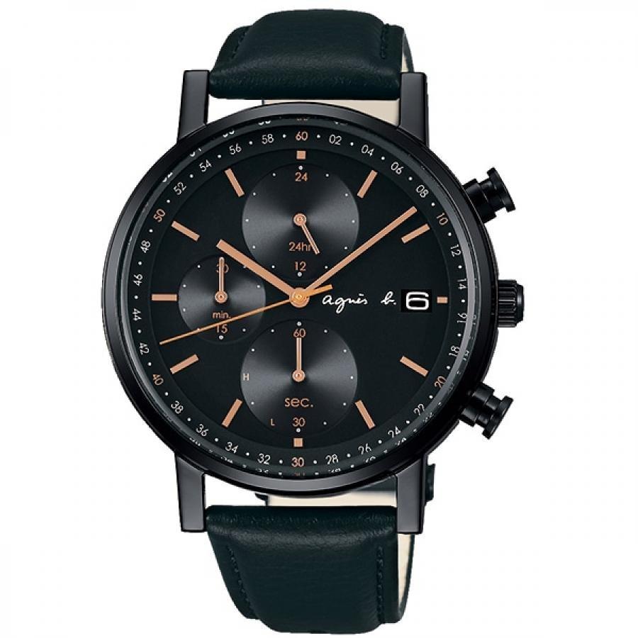 agnes b. アニエスベー SEIKO セイコー FBRD935 オム ソーラー 腕時計 メンズ