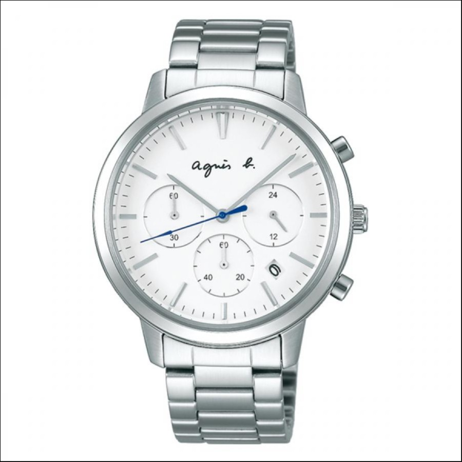new style 77385 59eca agnes b. アニエスベー SAM ペア 【国内正規品】 腕時計 メンズ ...