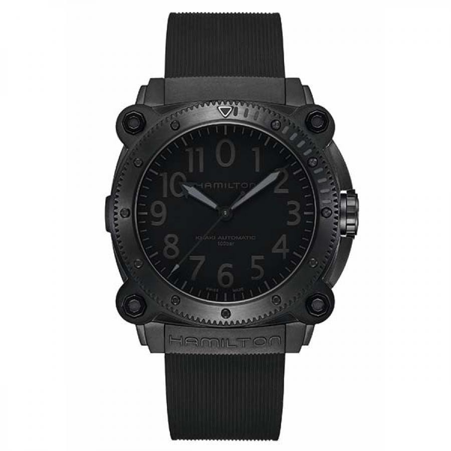 HAMILTON ハミルトン Khaki Navy Below Zero カーキ ネイビー ビロウ ゼロ H78505330 グレー 自動巻 腕時計 メンズ