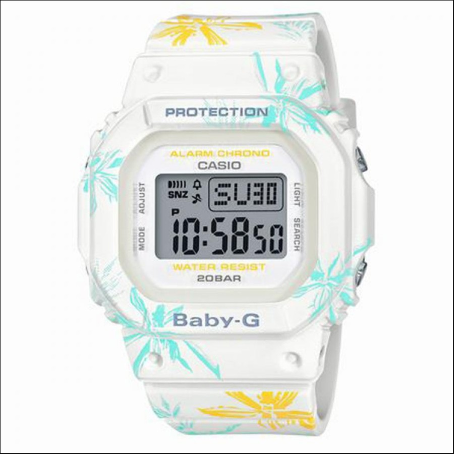 BABY-G ベイビージー SUMMER FLOWER PATTERN サマーフラワーパターン 腕時計 レディース BGD-560CF-7JF