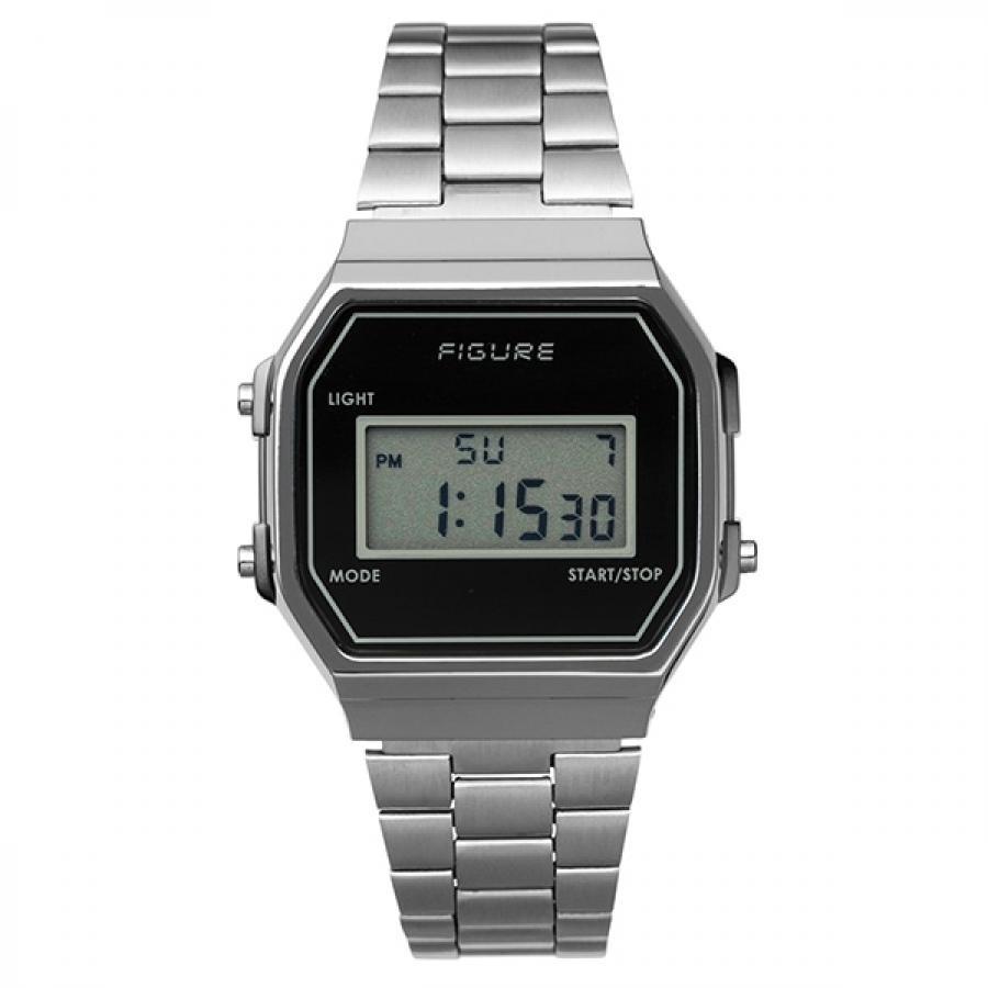 Movement in Motion ムーブメント・イン・モーション FIGURE フィギュア Color Digital カラーデジタル MIM-FD-BK ブラック TiCTACオリジナル 腕時計 メンズ レディース