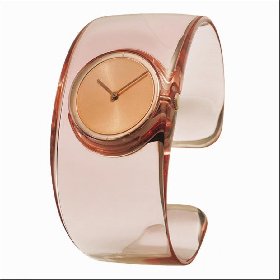 ISSEY MIYAKE  イッセイ ミヤケ 【O】 オー 吉岡徳仁氏 デザイン 腕時計 ローズ SILAW003
