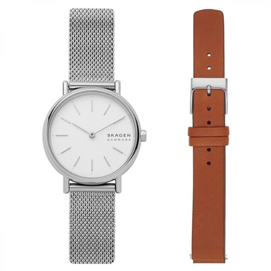 SKAGEN スカーゲン SIGNATUR シグネチャー SKW1146 TiCTAC別注モデル ベルトセット 腕時計 レディース