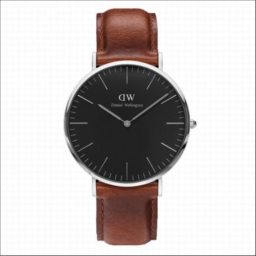 Daniel Wellington ダニエルウェリントン CLASSIC BLACK St Mawes 40mm 【国内正規品】 腕時計 DW00100130