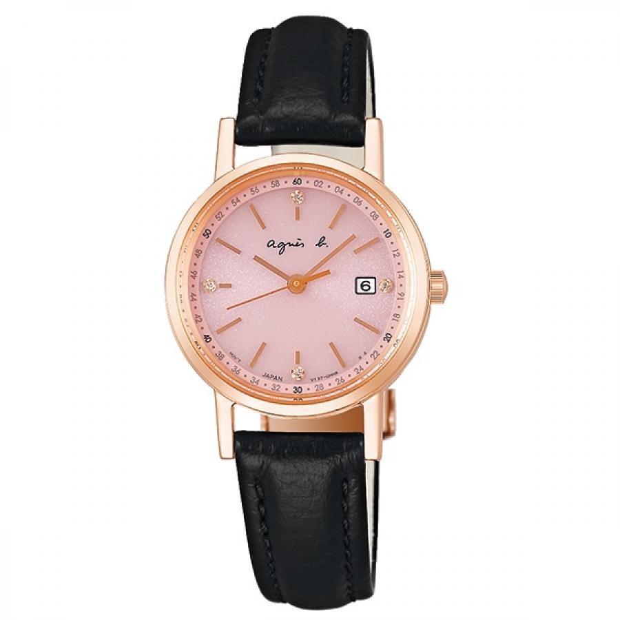 agnes b. アニエスベー SEIKO セイコー FBSD935 ファム ソーラー 腕時計 レディース