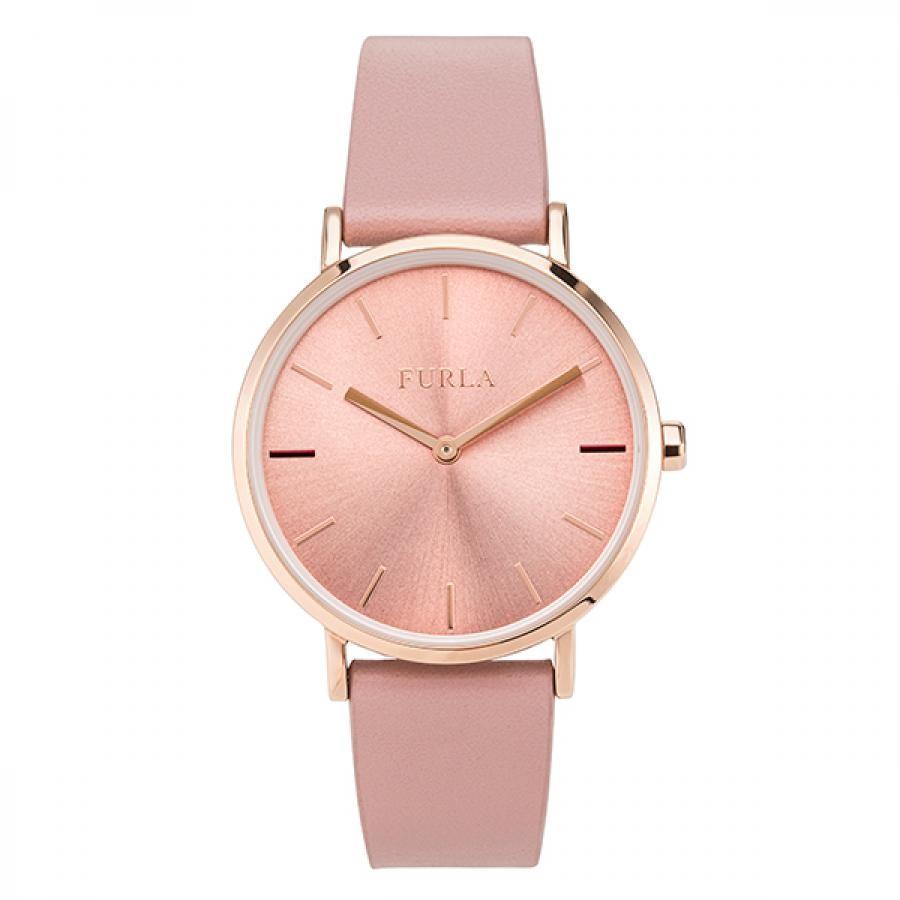 90f1d4c3b6fc チック タック. FURLA フルラ GIADA ジャーダ アーモンドピンク 腕時計 レディース R4251108545