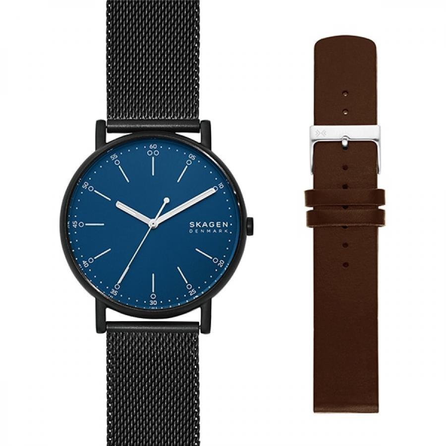 SKAGEN スカーゲン SIGNATUR シグネチャー SKW1143 ベルトセット 腕時計 メンズ