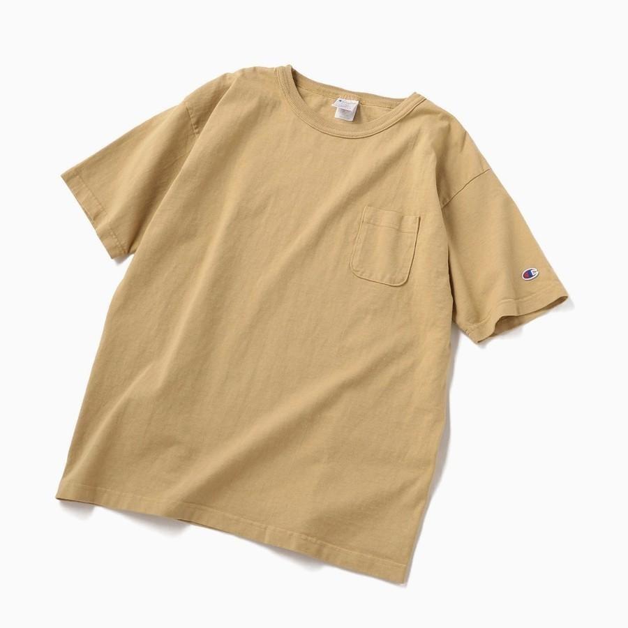 8f6c8a21bdf08e Champion: ガーメントダイ ポケット Tシャツ <MADE IN USA/T1011> | シップス | 池袋PARCO |  PARCOの公式ファッション通販 PARCO ONLINE STORE